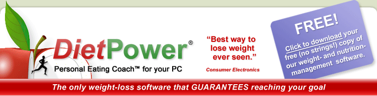 DietPower Weight-Loss and Nutrition Software