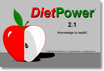DietPower 2.1 logo screen