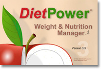 DietPower 3.3 logo screen