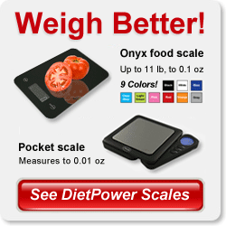 See DietPower food weight scales